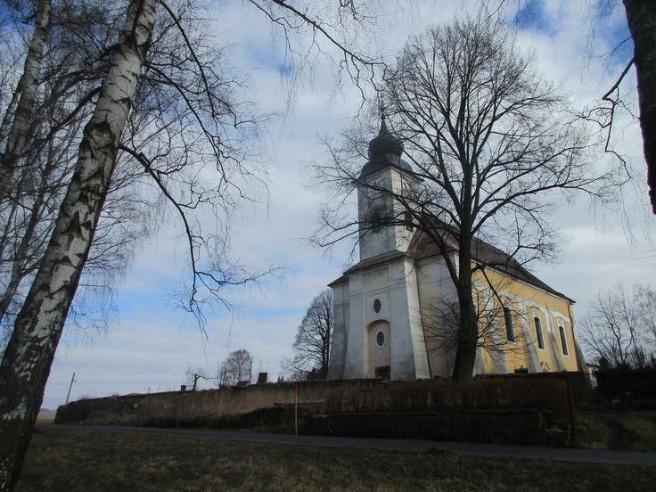 Kostel Navštívení P. Marie - Lobendava - Ústecký kraj