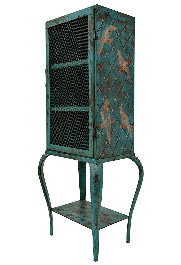 181 best furniture muebles images on pinterest media for Vitrina estilo industrial