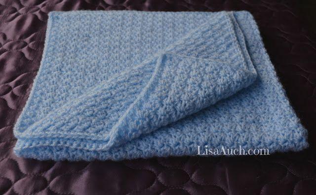 Easy Crochet Baby Blanket Pattern, FREE Crochet Pattern ...