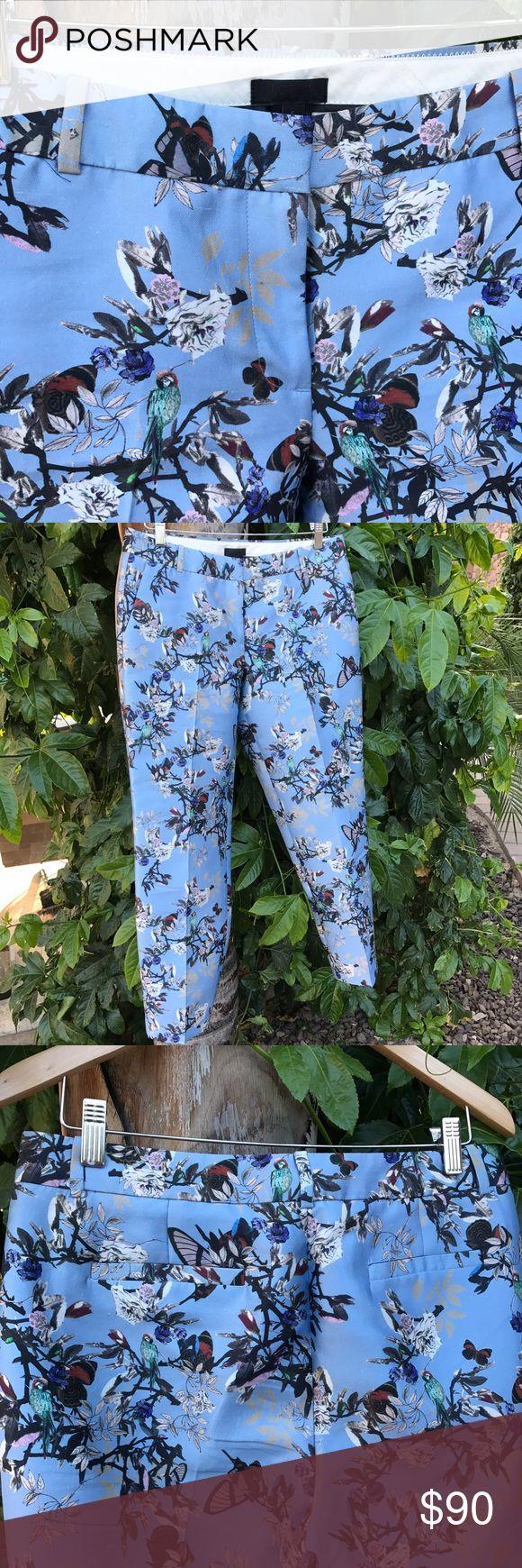 J Crew Collection gorgeous silk pants trousers Straight leg J. Crew Pants Trousers