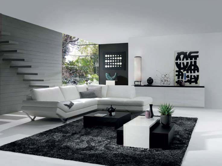Natuzzi Leather Sectional · Retro Living RoomsSmall Living Room DesignsGrey  ...