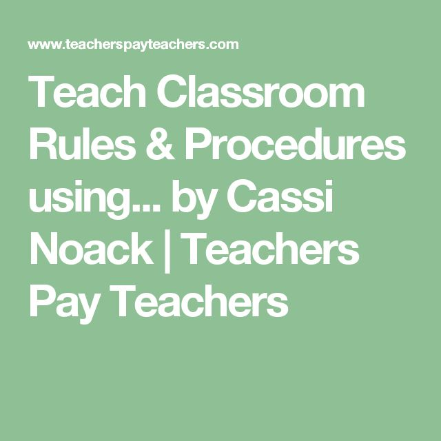 Rules Procedures: 25+ Best Ideas About Classroom Rules Memes On Pinterest
