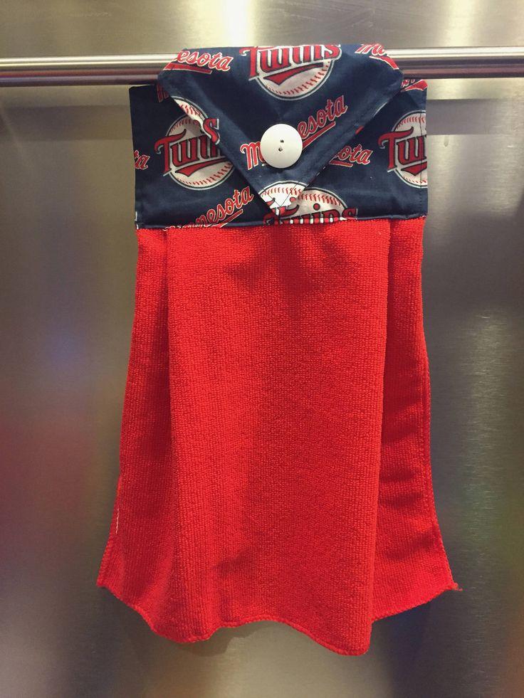 Minnesota Twins, MN Twins, Minnesota Twins Baseball, Twins Baseball, Minnesota, Twins, MLB, MLB Towel, Baseball Towel, Hanging Hand Towel by BagsRugsandMore on Etsy