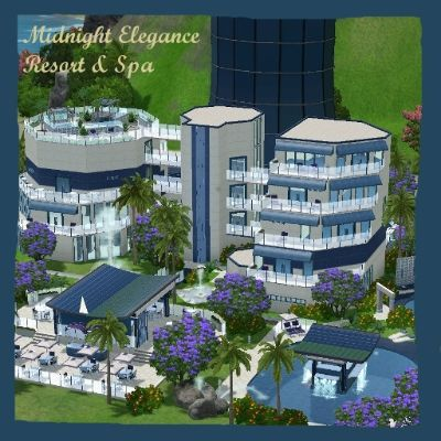 Midnight Elegance Resort & Spa by 4fengaria - The Exchange - Community - The Sims 3