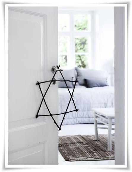Cool DIY Christmas Twig Star | Shelterness