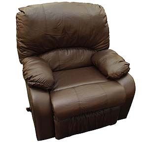 Lazy Boy Brown Leather Recliner