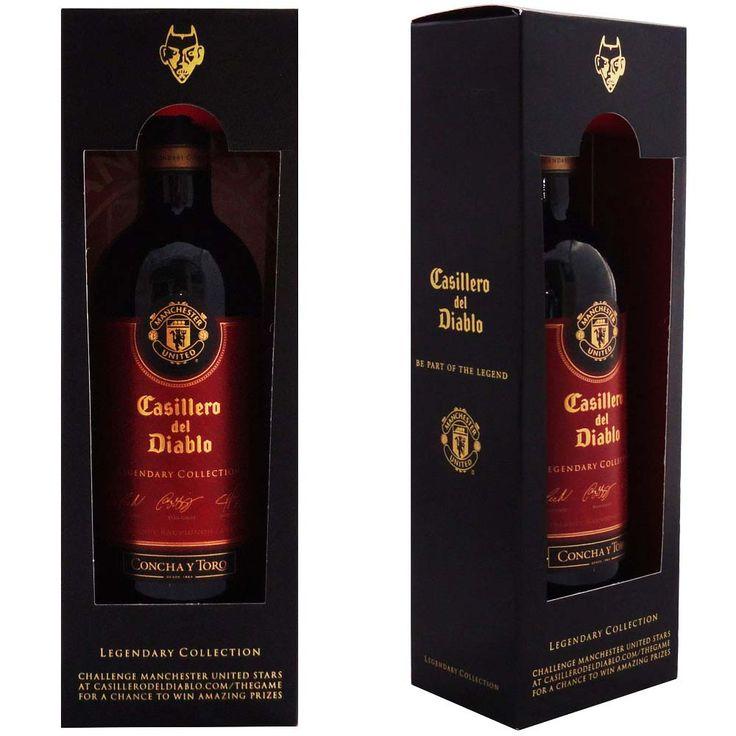 Vinho Casiilero del Diablo Legendary Manchester United #temnacosti