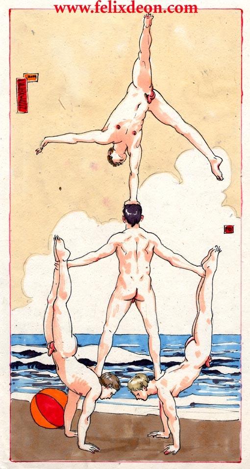 Beach Boys by Felix d'Eon