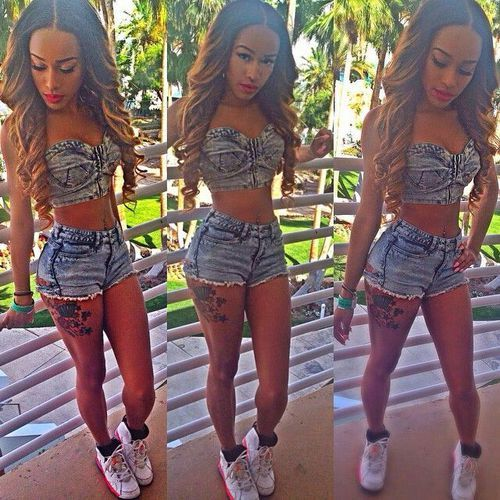 Pretty swag | Girl Urban Thug/ Girls With Swag ✌️ | Pinterest: @miyah hudson
