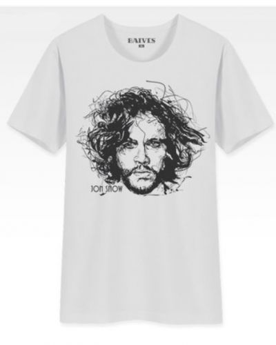 Game of Thrones Season 5 white t shirt for men Jon Snow A Song of Ice and Fire personalized t shirts-