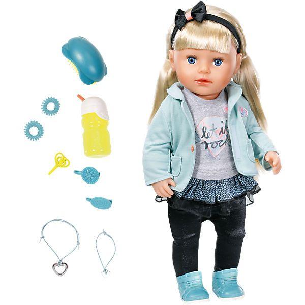 Exklusiv Baby Born Stehpuppe Sister 43 Cm Zapf Creation Baby Geboren Geschenke Fur Kleinkinder Baby Puppen
