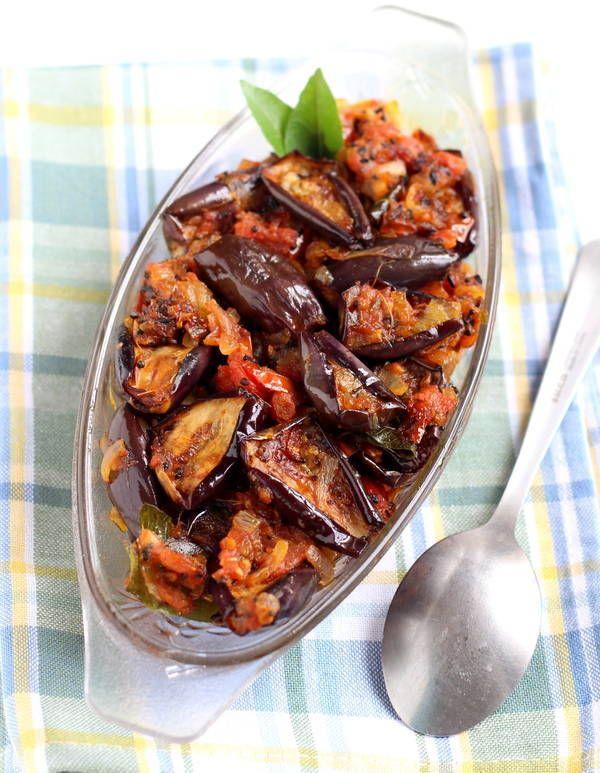 Achari Baingan Recipe: Easy recipe of Baingan Achaari with step by step pictures. Achari baingan Pickled aubergine recipe. How to make Achaari Baingan.