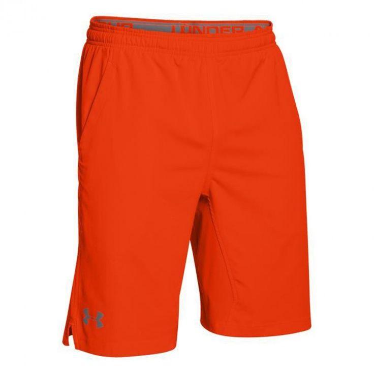 Pánské oranžové sportovní kraťasy Under Armour
