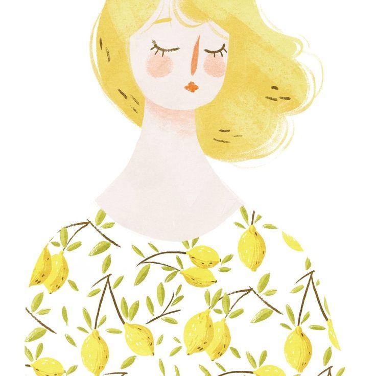 taryndraws 'lemon girl'.