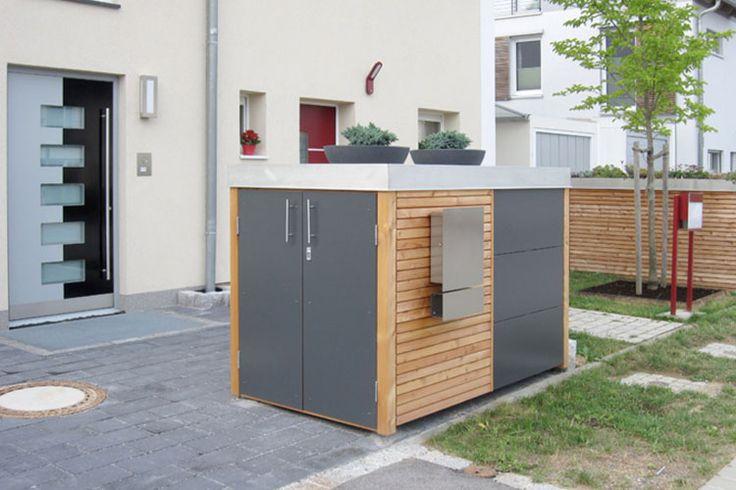 die besten 17 ideen zu m lltonnenbox auf pinterest. Black Bedroom Furniture Sets. Home Design Ideas
