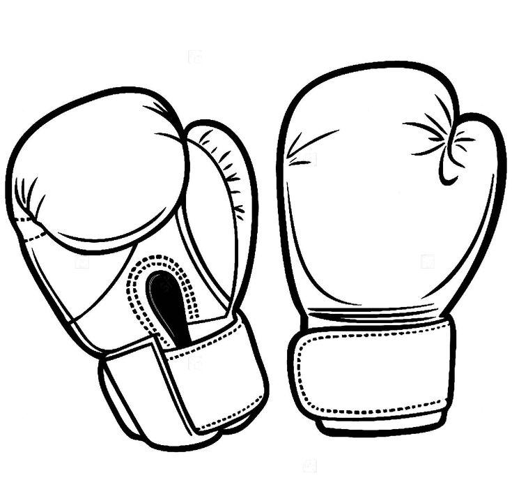 Боксерские перчатки картинки в векторе