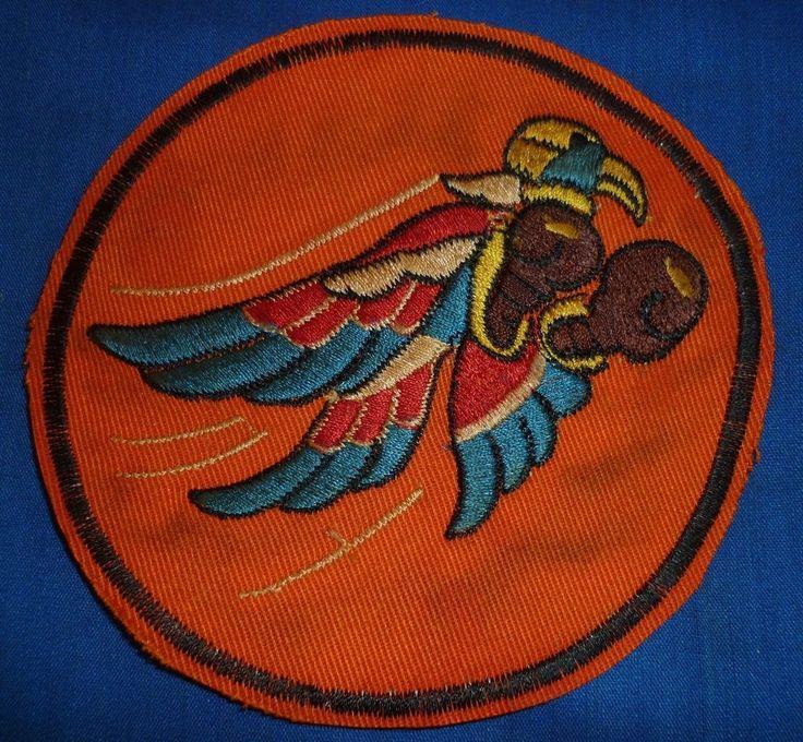 USAF PILOT - NEWSPAPER PATCH - X.962 - 23rd TACTICAL FIGHTER SQN - Vietnam War