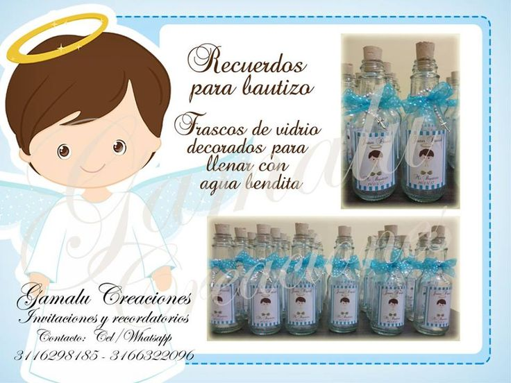 recordatorios, souvenir, bautizo