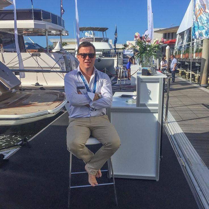 Launch @sanctuarycoveboatshow Time to sell some boats #sundancemarine #montecarloyachts