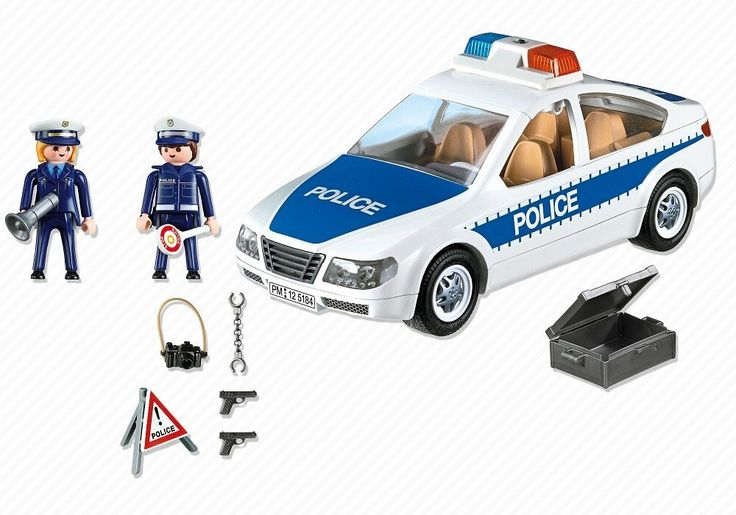 PLAYMOBIL Police Car 5184  #toys2learn #playmobil #police #car #cars #vehicles #play #toys #toy #children #child #kids #gift
