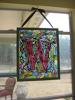 25+ best ideas about Faux stained glass on Pinterest | Stained ...