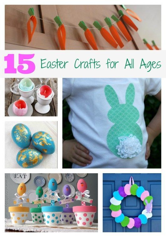 15 easter crafts for all ages frugal kids activities for Fun crafts for all ages