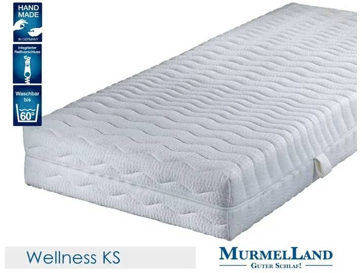 Murmelland Wellnessgel 7 Zonen Kaltschaum Matratze 200x200 Cm Medium In 2020 Mattress Home Decor Furniture