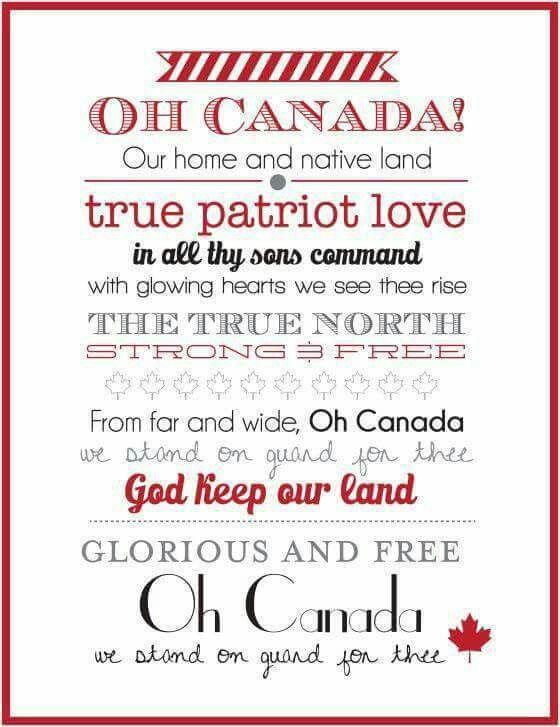 O Canada ♡♡