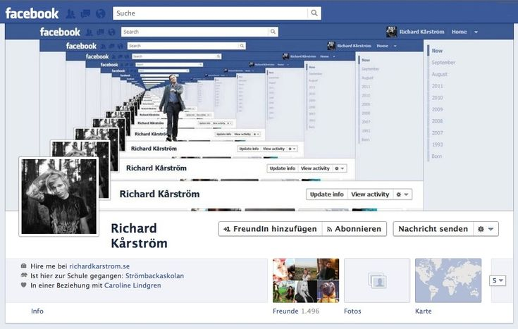 Facebook Chronik