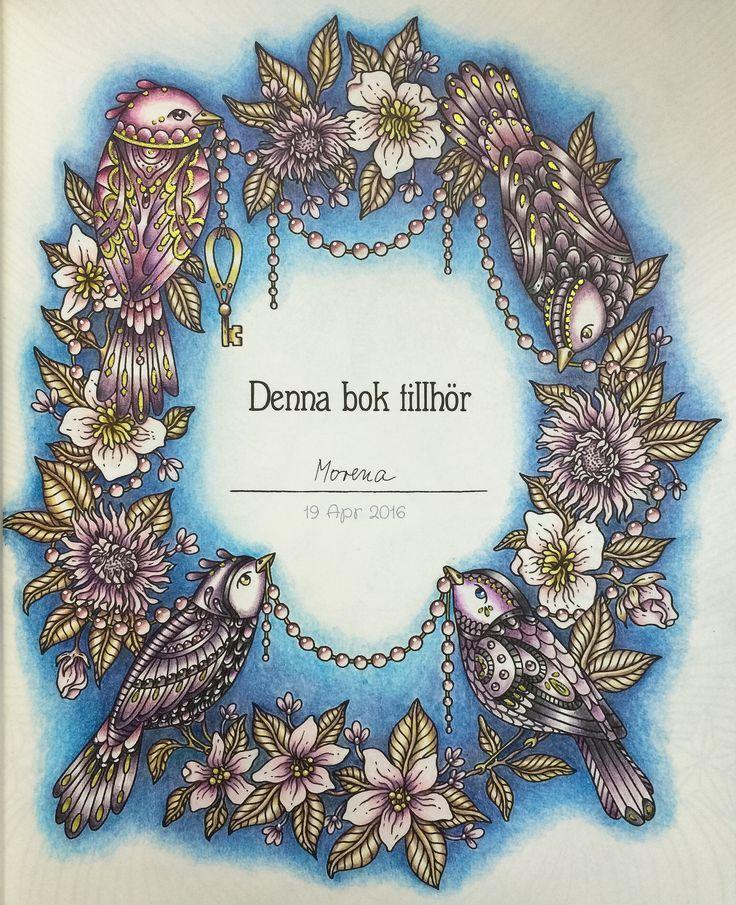 Ab Sommernacht! Koloriert von Morena Vajak #hannakarlzon # daydreams # winterdream …   – Vinterhatt