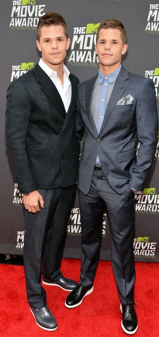 Max Carver and Charlie Carver at MTV Movie Awards