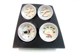 1968 - 1969 Custom Console Gauge Assembly, with Clock