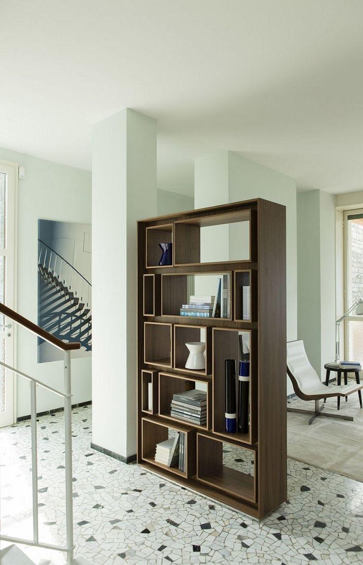 Bookshelves As Room Dividers Best 25 Room Divider Bookcase Ideas On Pinterest  Bookshelf Room