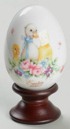 Duck And Ducklings - Boxed in the Noritake Easter Egg pattern by Noritake