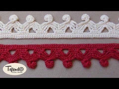 Crochet, Puntilla a ganchillo 2