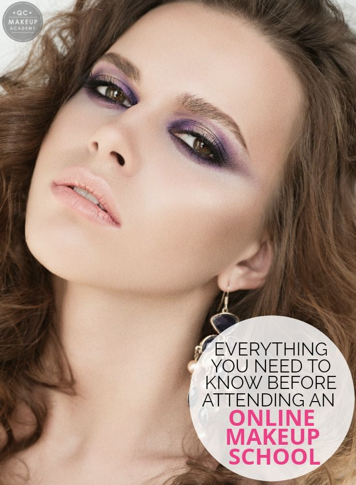 Find out everything you need to know before enrolling in an online makeup school, including how to budget your time and how to get makeup discounts! #QCMakeupAcademy #makeup #makeupartist #learnmakeup #makeupcourses #onlinemakeupschool #onlinemakeupcourses #makeuptraining #makeupcareer