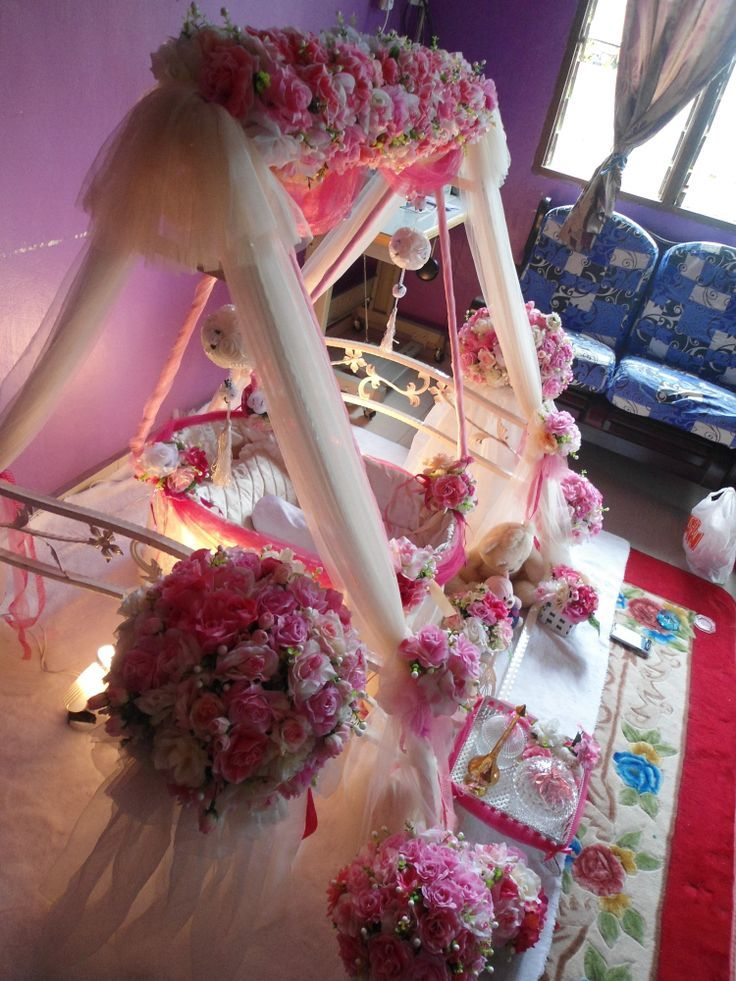 17 best cradle ceremony balloon decorations images on for Baby cradle function decoration