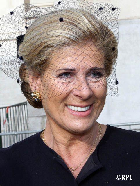 Princess Lea of Belgium is the widow of Prince Alexander of Belgium, younger half-brother of King Albert II of Belgium