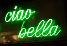 Ciao bella...