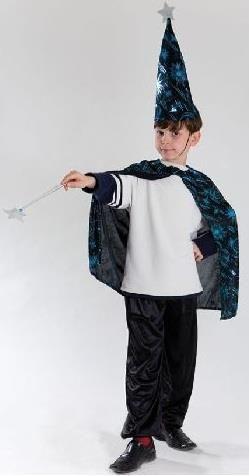 Купить детский карнавальный костюм волшебника звездочета