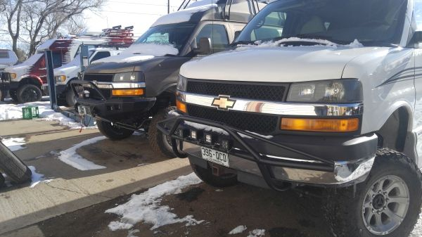 Chevy Express Front Bumper Chevy Express 4x4 Van Photo Galleries