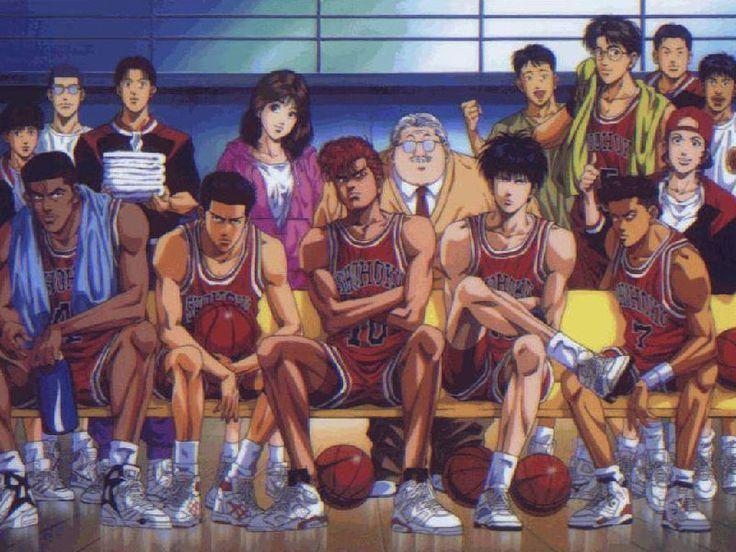 Tags: Slam Dunk, Sakuragi Hanamichi, Rukawa Kaede, Akagi Takenori, Akagi Haruko