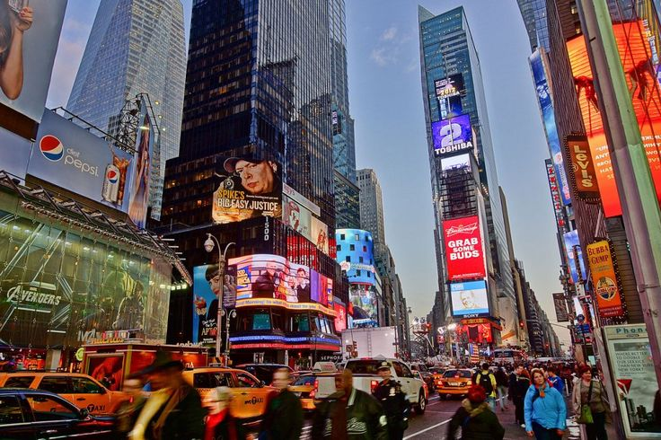Best Attractions In New York: Times Square (source: wiki)