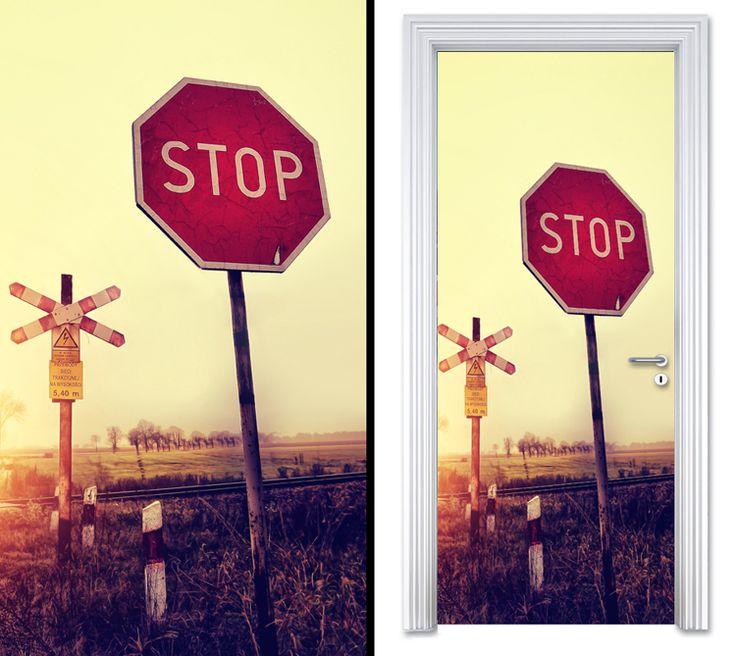 Door sticker STOP by Sticky!!!