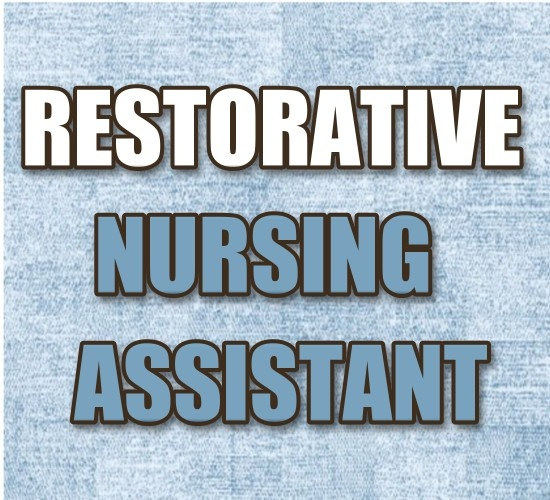 http://medicalcareersite.com/cna/restorative-aide  Restorative Nursing Assistant  #CNA  Restorative aides -usually nursing assistants with special training