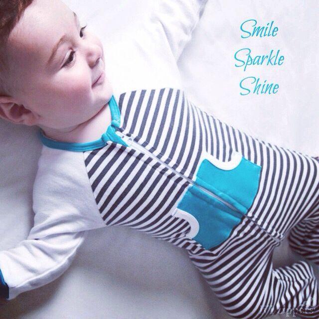 Smile Sparkle Shine happy quotes Li'l Zippers