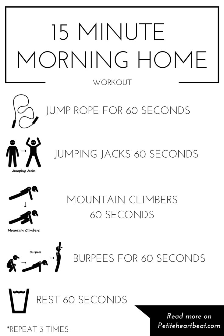 15 MINUTE HOME CARDIO WORKOUT