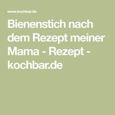 Bienenstich nach dem Rezept meiner Mama - Rezept - kochbar.de