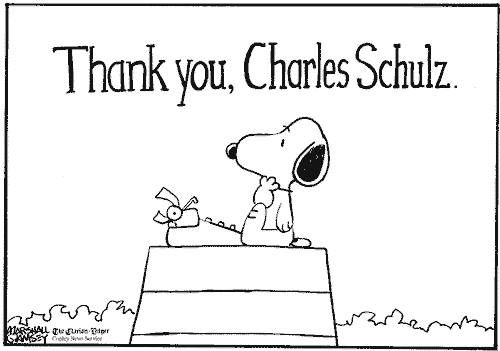 Tribute to Charles Schulz