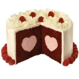 Oh the perfect cake for my husband who loves red velvet cake